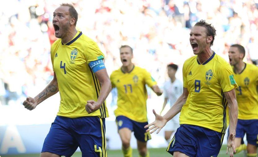 Сборные Швеции и Южной Кореи провели первый матч на турнире