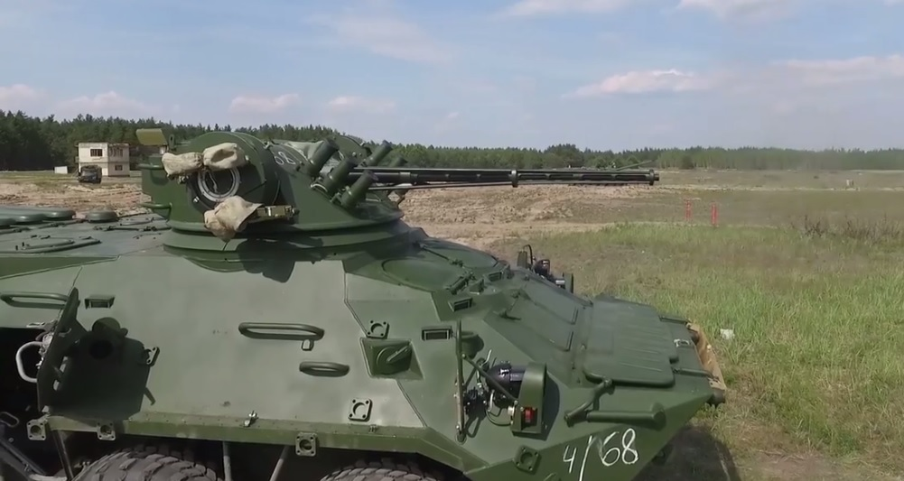 Киевский бронетанковый завод сообщил Нацгвардии партию БТР-3ДА