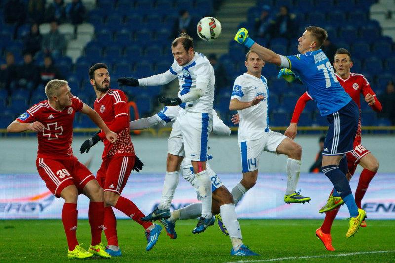 «Динамо», «Днепр» и «Шахтер» легко вышли в четвертьфинал Кубка Украины