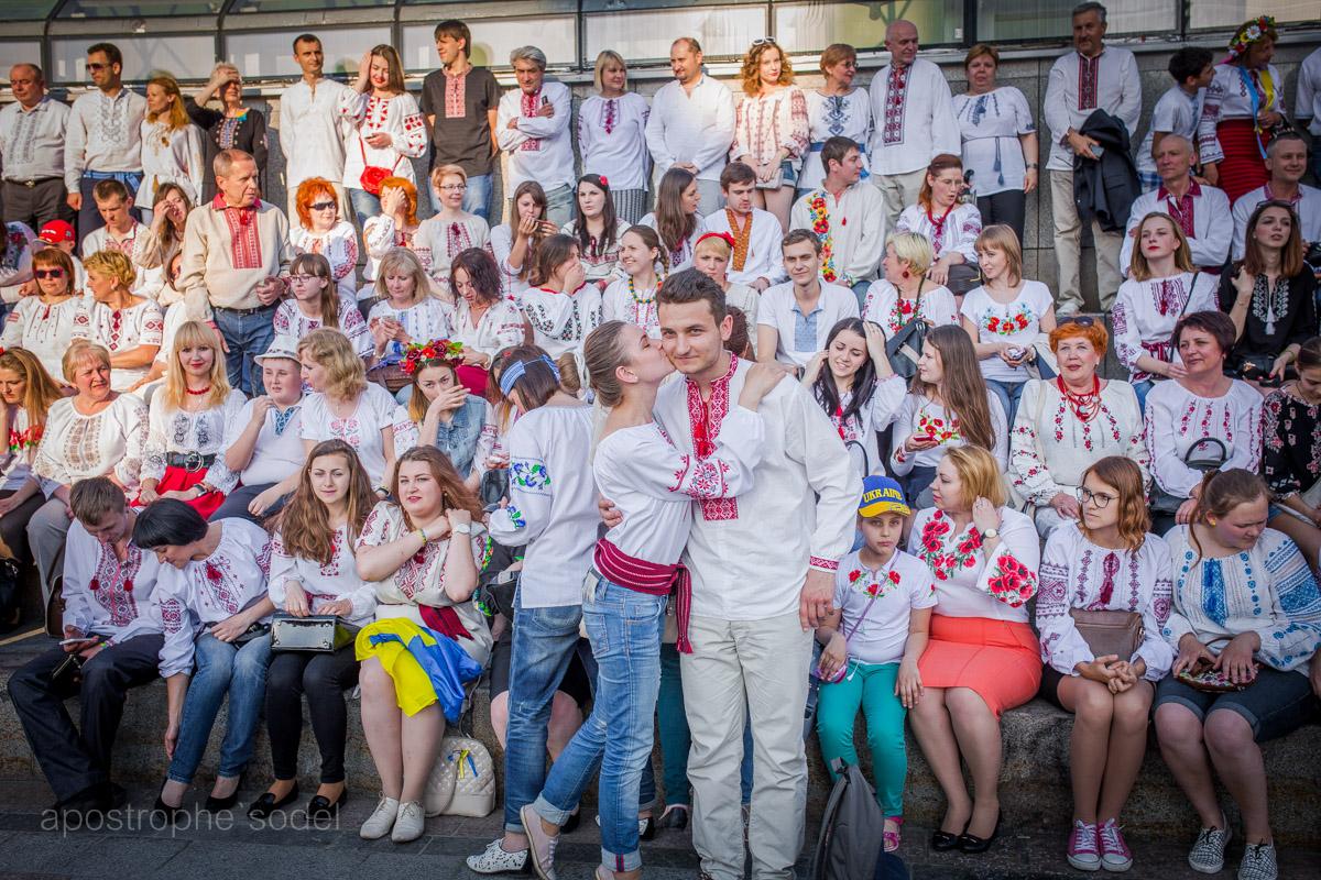 Как в Раде и на улицах Киева отмечали День вышиванок