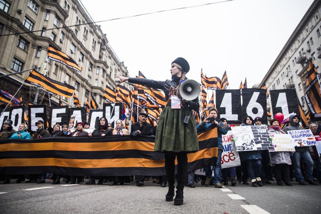 Зачем Кремлю понадобились марши в День национального единства?