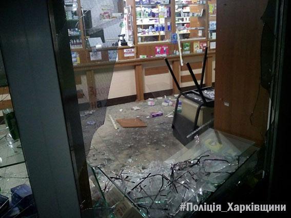 Взрыв вХарькове: ваптеку бросили гранату