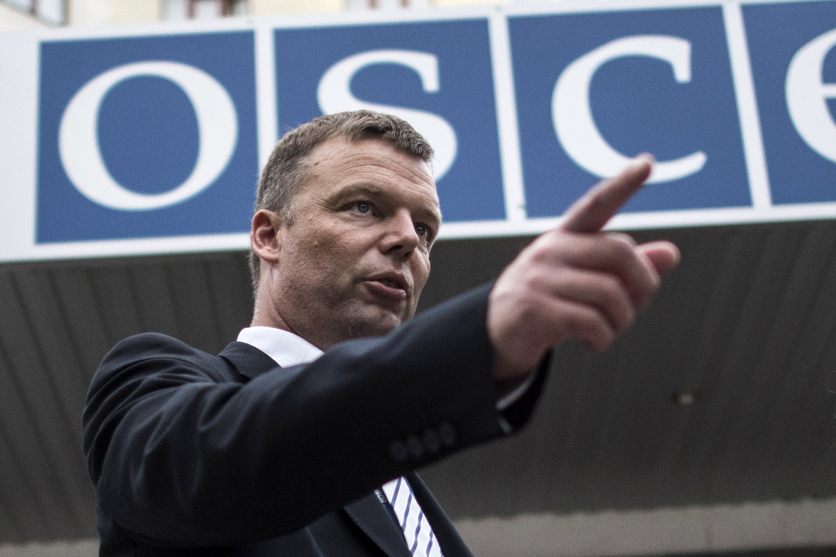 О войне на Донбассе, работе ОБСЕ и проблемах миссии