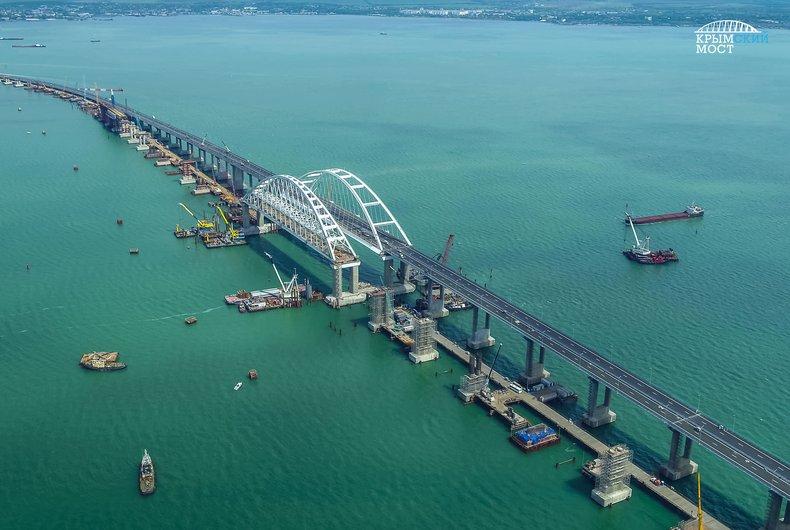 Константин Боровой о запуске путинского моста в Крым