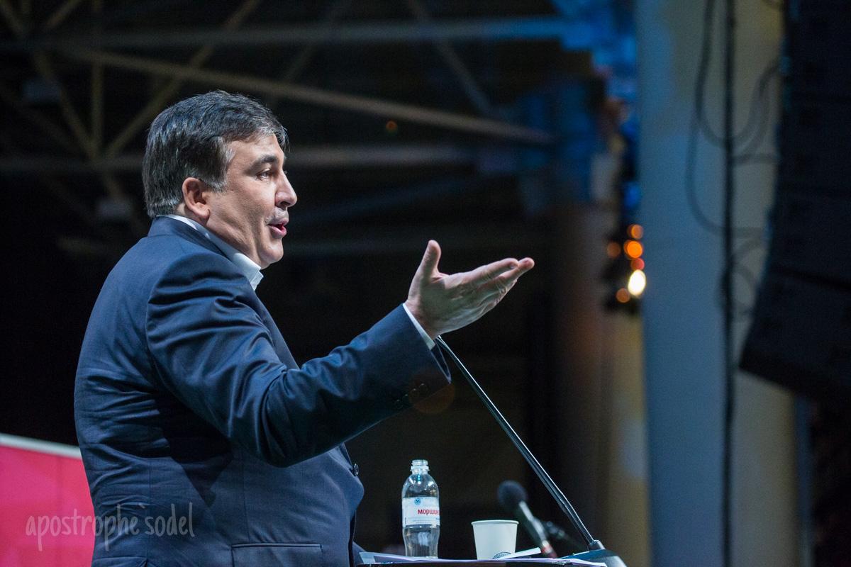 Блогеры обсуждали вероятность появления политсилы Михаила Саакашвили