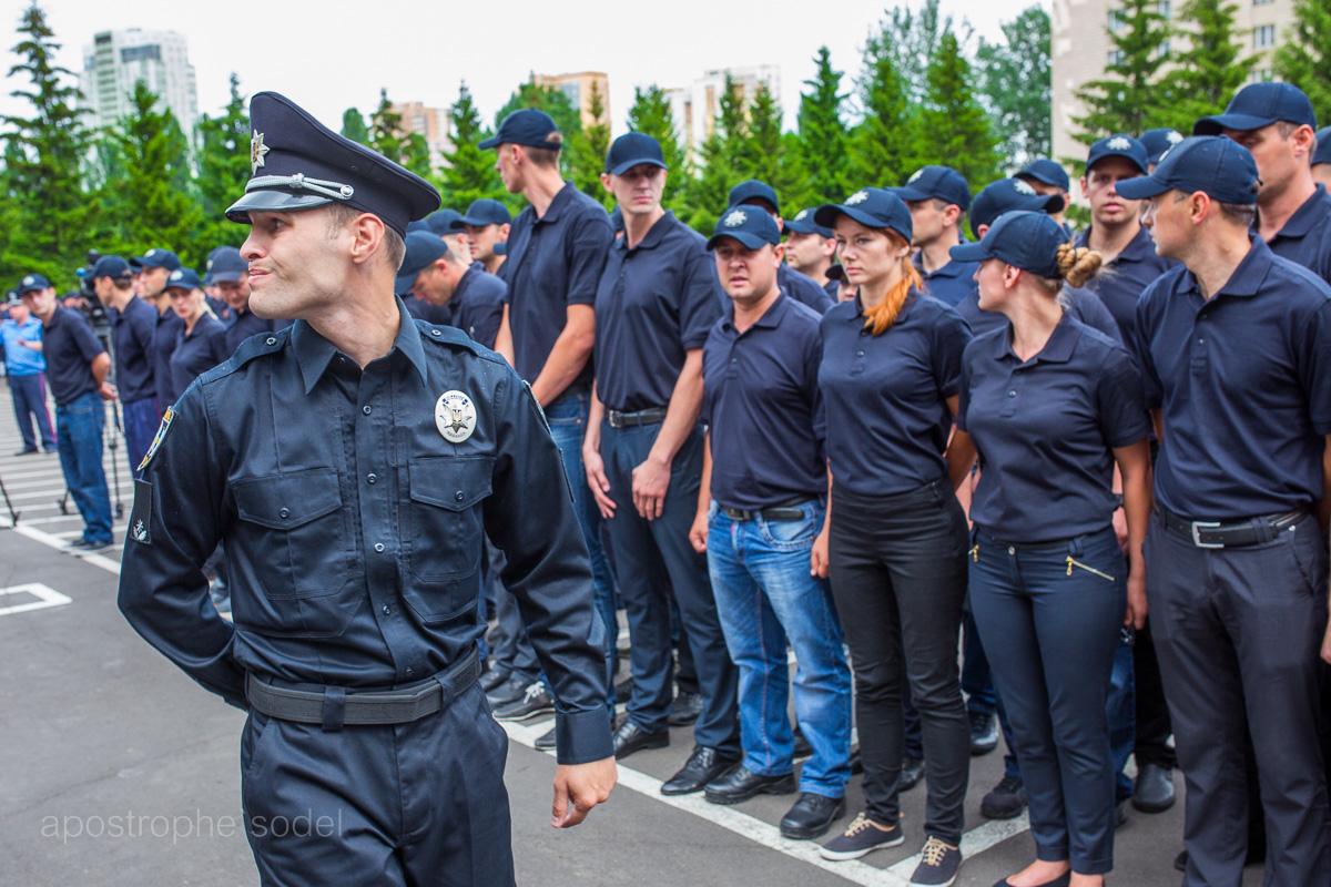 Как пользователи соцсетей отреагировали на появление новой полиции в Киеве