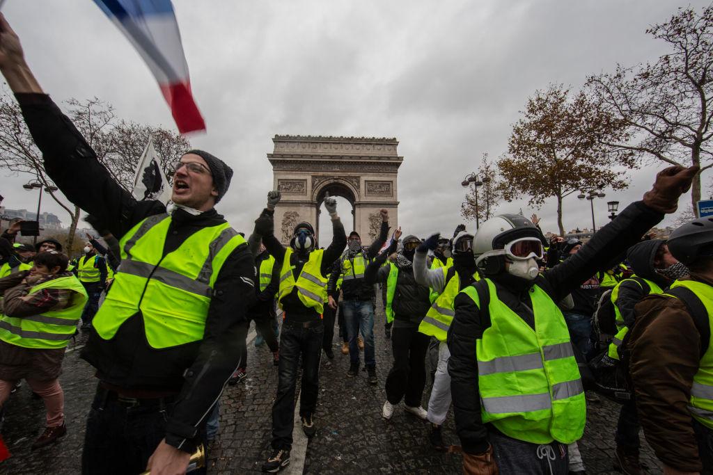 Протест жовтих жилетів у Франції