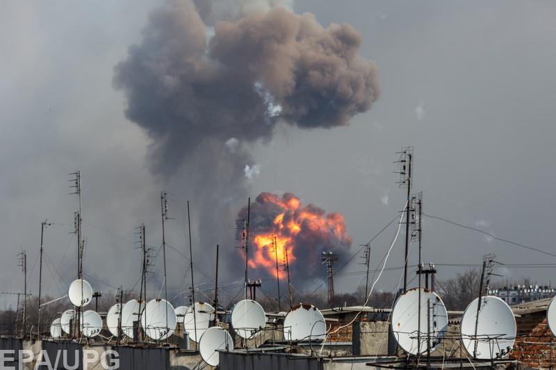 Взрывы на военном складе под Харьковом могут быть началом широкомасштабной военной агрессии РФ