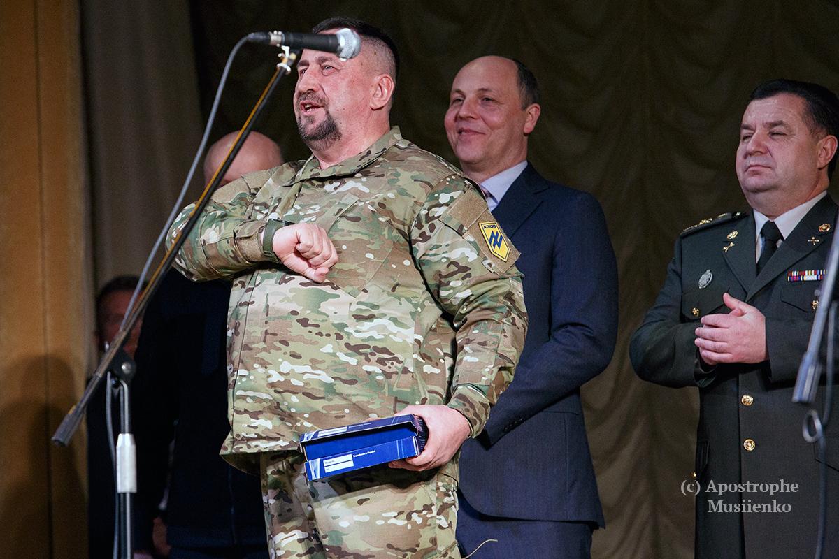 В Киеве представили книгу о добровольческих батальонах