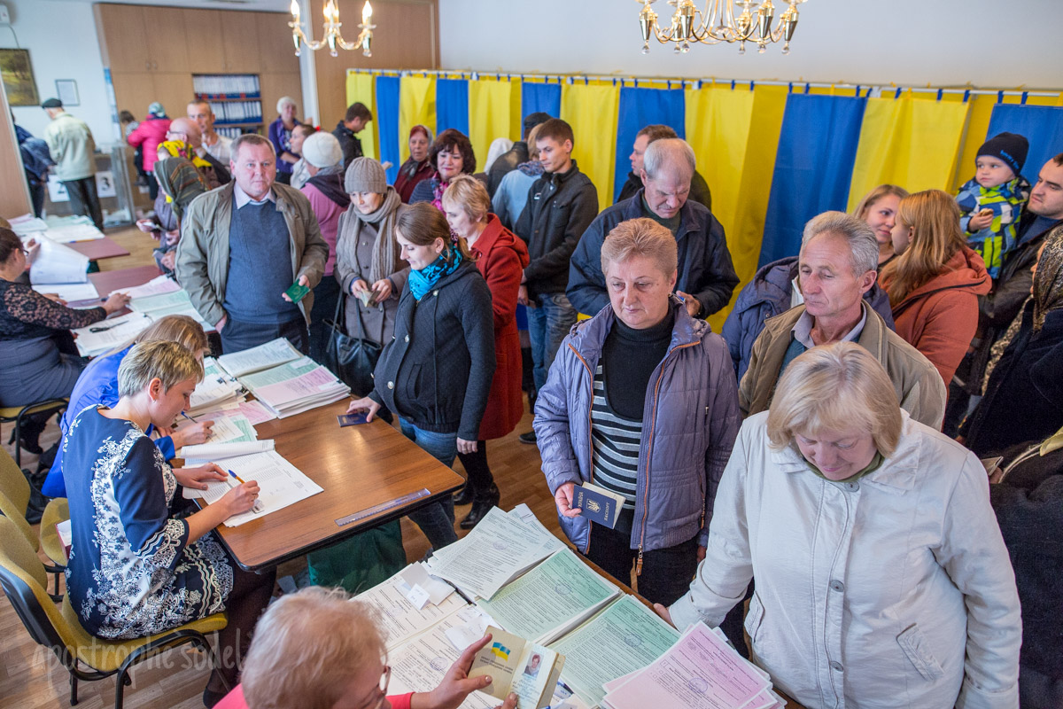 На выборы пришло мало избирателей, а в некоторых городах они вообще не состоялись