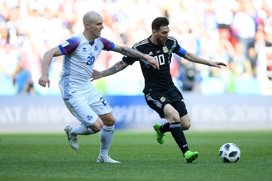 Аргентина и Исландия начали свой путь на ЧМ-2018 в Москве