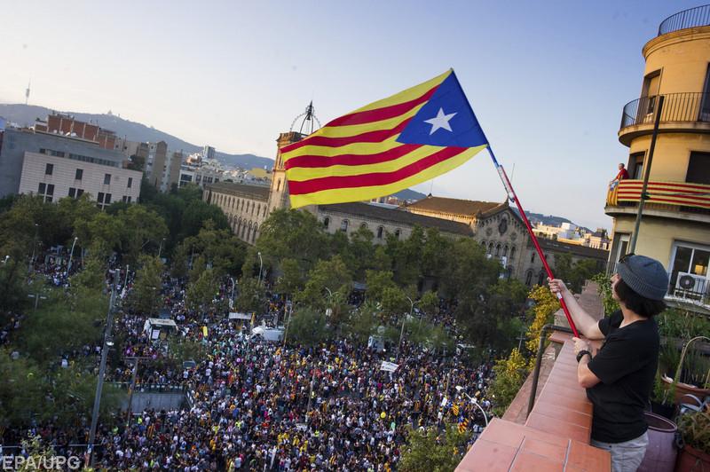 Есть два варианта по итогам так называемого референдума в Каталонии