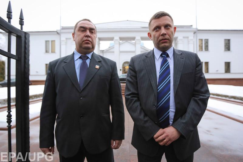 В России решили отстранить Захарченко и Плотницкого от управления в ДНР и ЛНР
