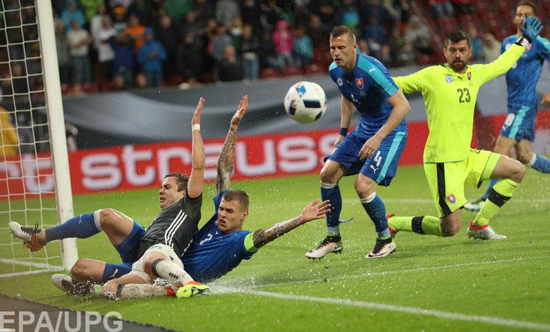 Соперник сборной Украины по групповому раунду Евро-2016 уступил в контрольной встрече