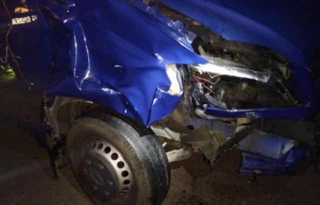 ВВенгрии фургон сбил двух украинцев