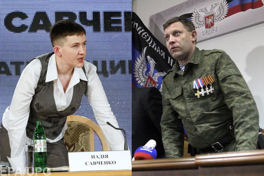 Владислав Сурков не против организовать встречу между Надеждой Савченко и главарем ДНР