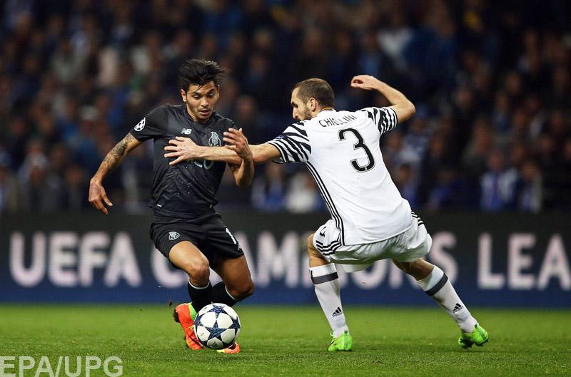 В Турине прошел ответный матч 1/8 финала Лиги чемпионов