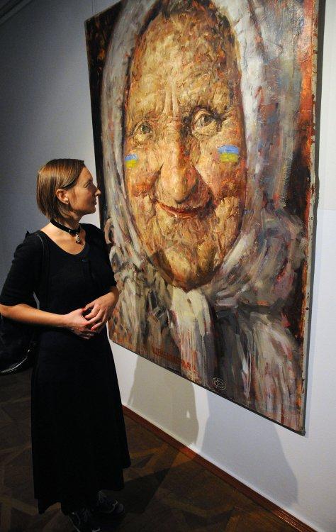 В Киевском музее русского искусства открылась выставка Владислава Шерешевского