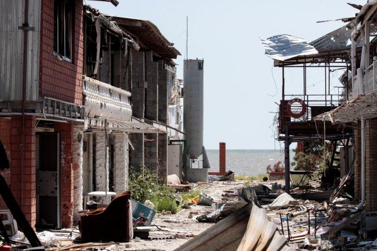 Противник обстреливает окрестности Мариуполя из крупнокалиберной артиллерии