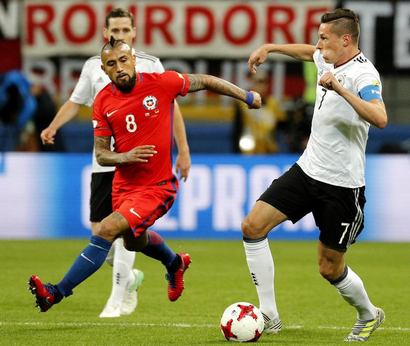 В финале Кубка Конфедераций встречались лучшая команда Южной Америки и чемпионы мира