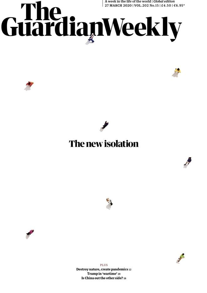 Планета закрыта на карантин: пандемия коронавируса попала на обложки топ-изданий мира, фото