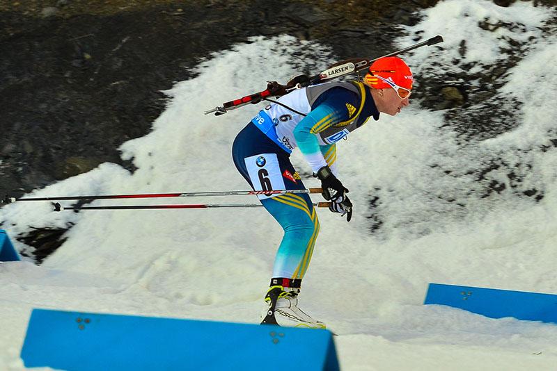 Валя Семеренко на последних метрах дистанции вырвала бронзу Кубка мира