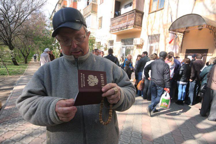 Москва решила провести паспортизацию оккупированного Донбасса