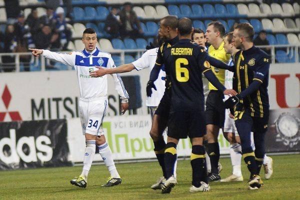 В Израиле подопечные Реброва сыграли второй матч в Лиге чемпионов