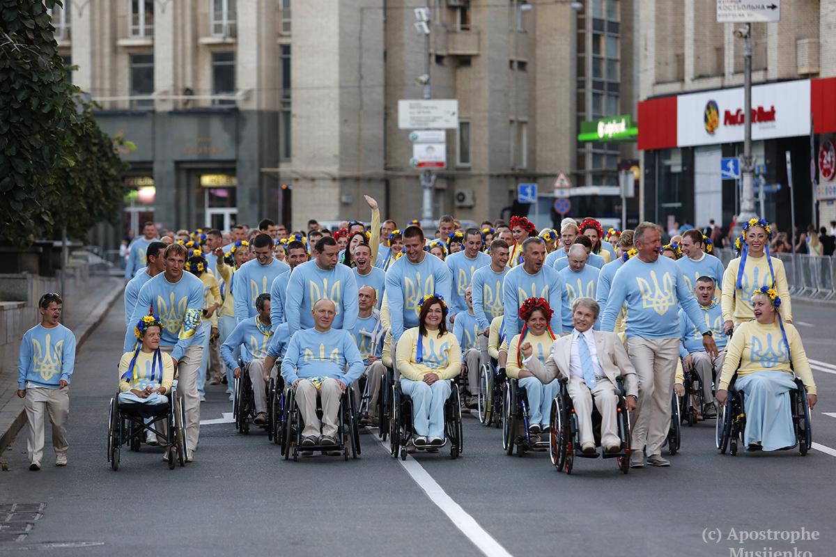 Наши спортсмены являются одними из лидеров Паралимпиад