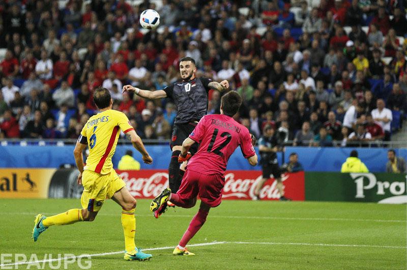 В заключительном туре группового раунда Евро-2016 Албания победила Румынию