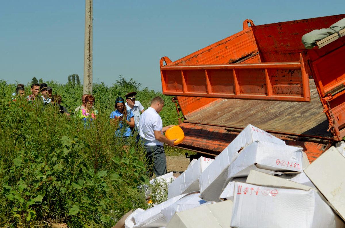 По мнению Stratfor, уничтожение продуктов снизило популярность Путина среди собственных граждан