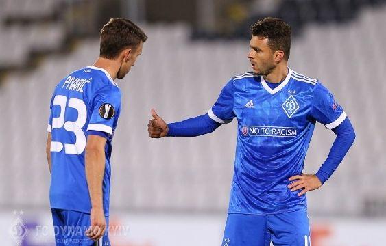 Киевляне проводят заключительный поединок группового этапа Лиги Европы