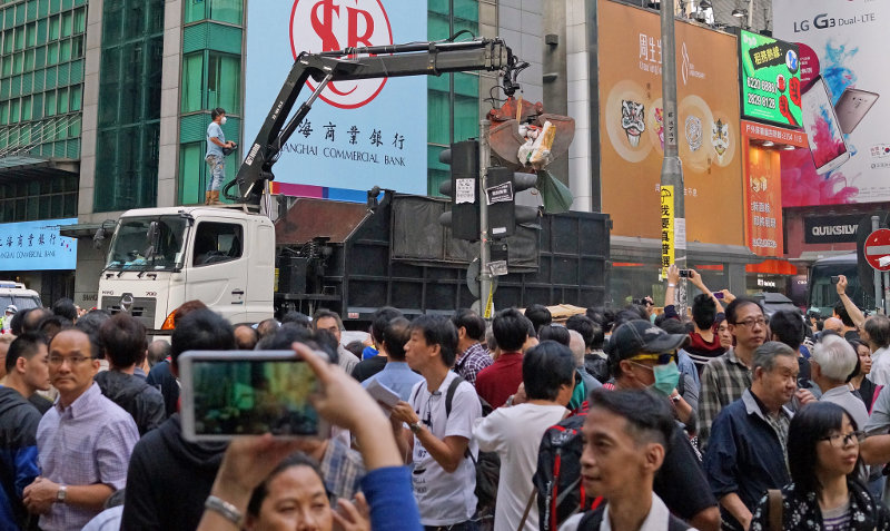 Власти воспользовались расколом в протестном движении