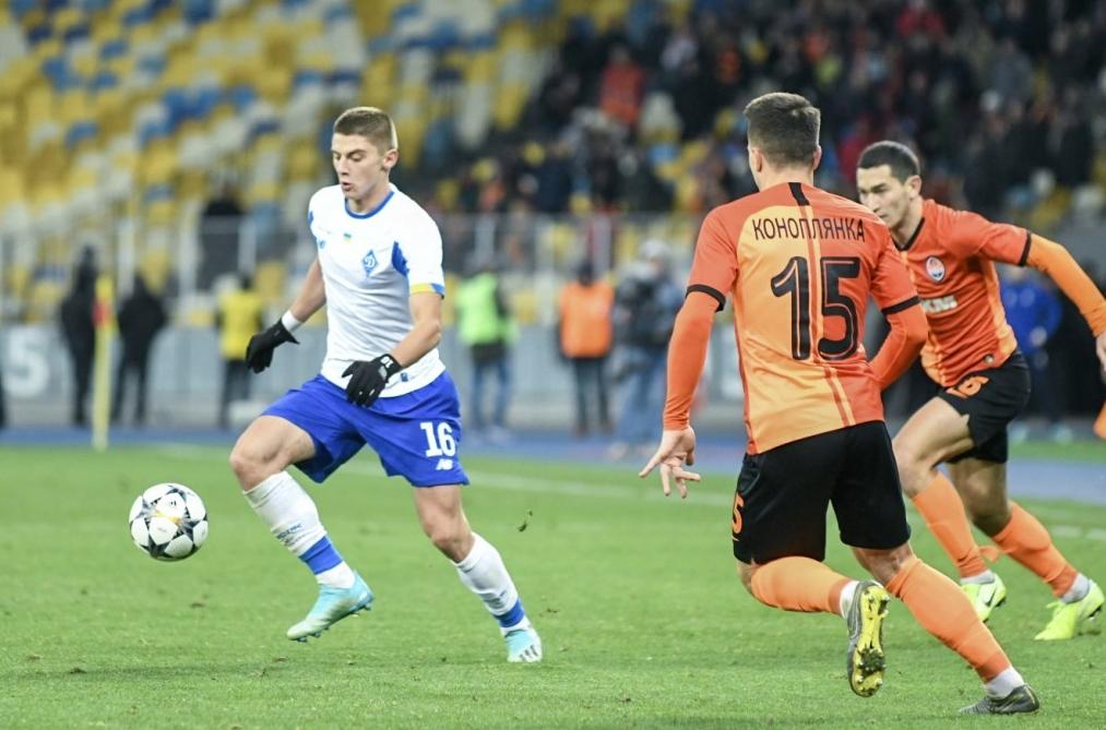 Шахтар обіграв Динамо в 14-му турі чемпіонату України