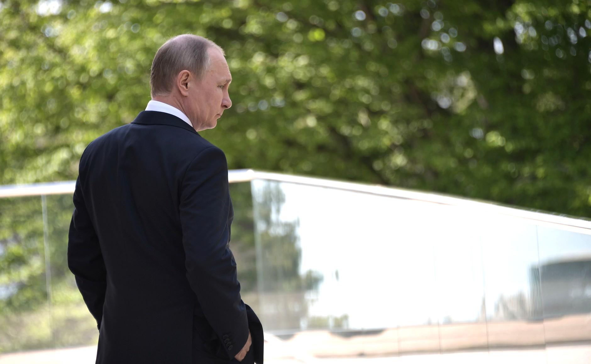 У Путина состояние психологического зависания