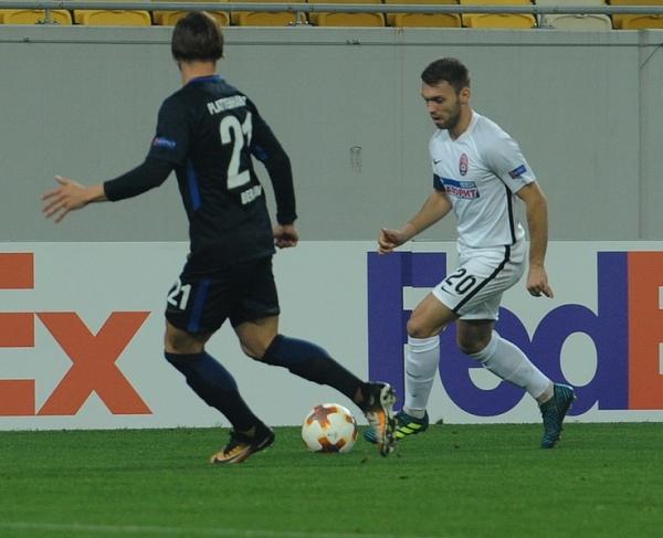 Луганский клуб провел четвертый матч групповой стадии ЛЕ