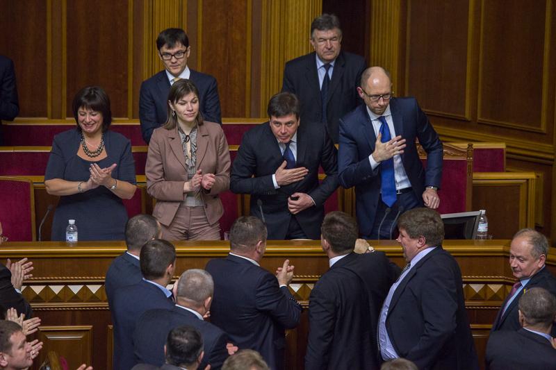 Назначение членов правительства заняло у Верховной рады целый день