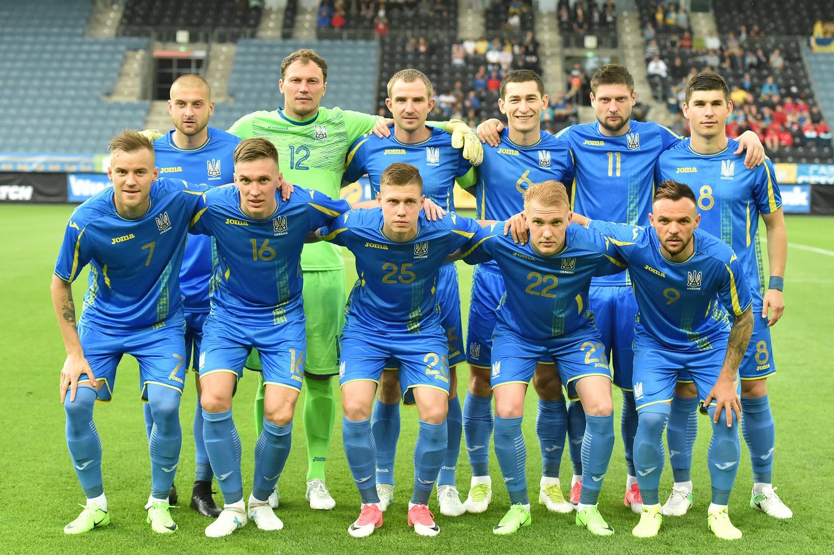 Сборная Украины на выезде провела матч квалификации на ЧМ-2018