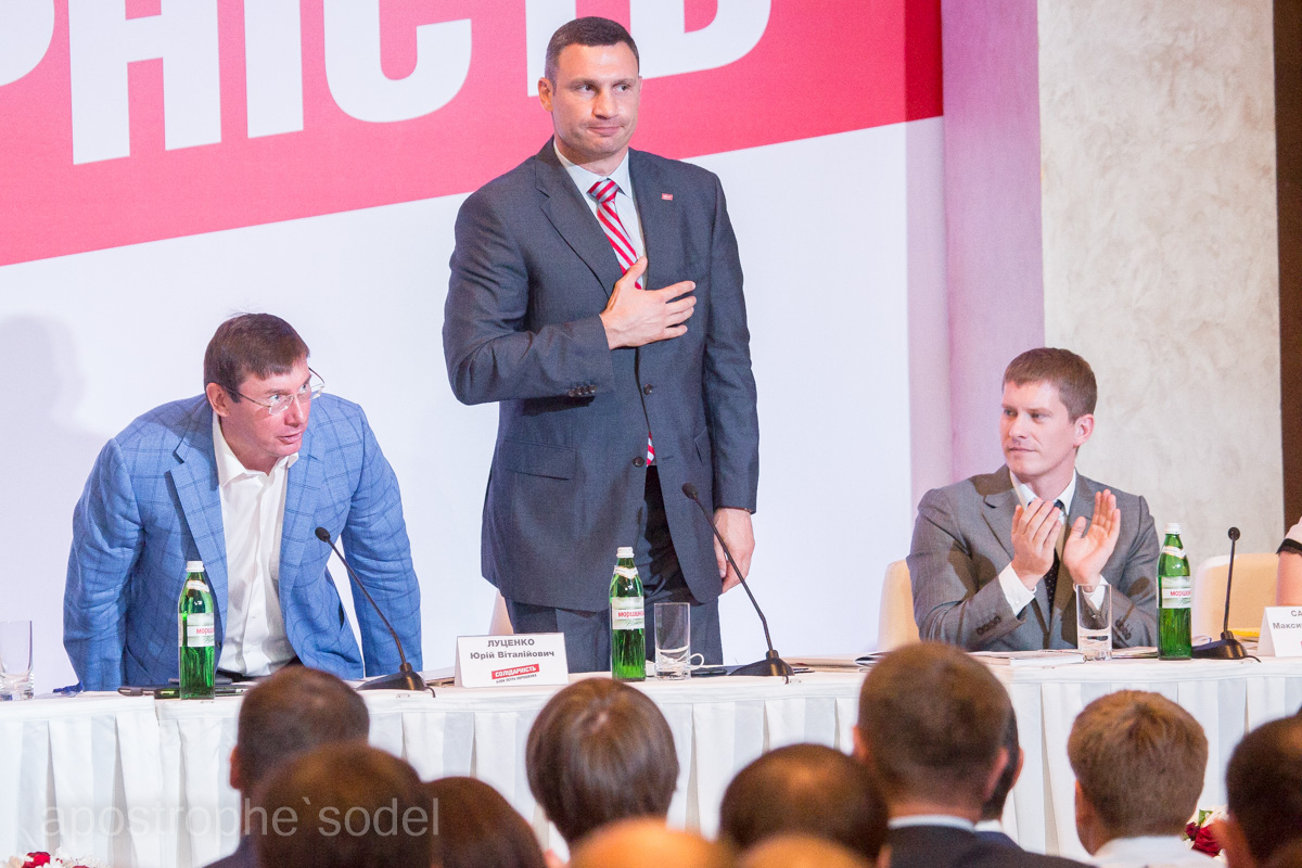 """Возможный новый председатель партии БПП """"Солидарность"""" - пока даже беспартийный"""