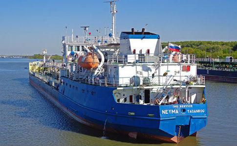 Russian tanker was detained in the Ukrainian port of Izmail