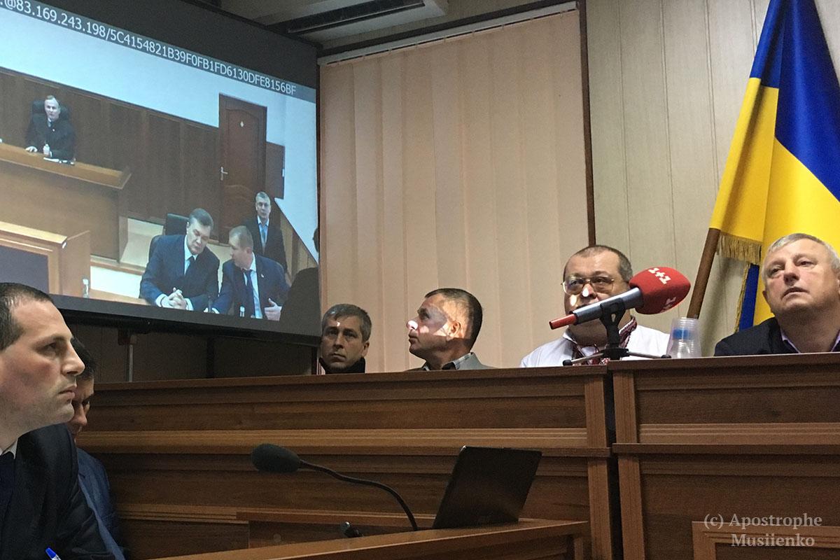 Виктор Янукович 25 ноября дает показания ГПУ по делу о преступлениях на Евромайдане