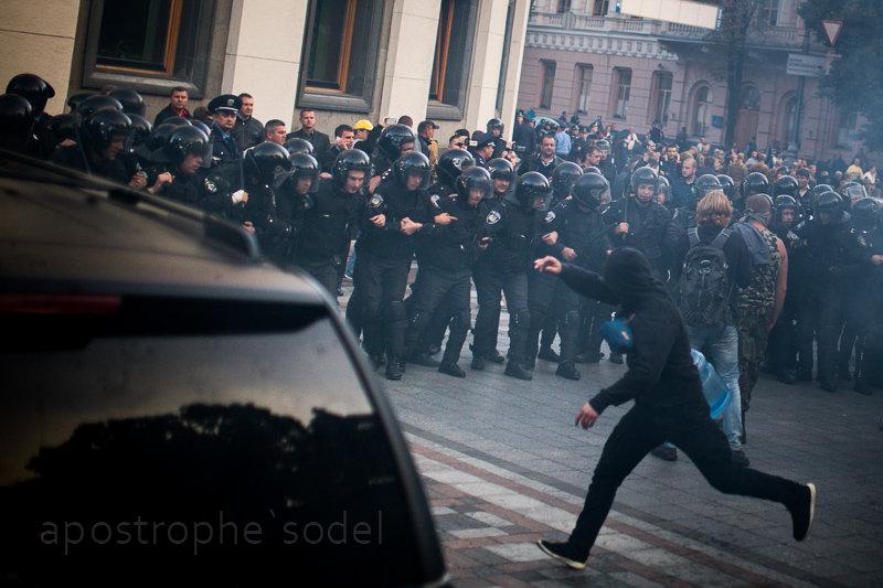 События на Майдане и война способствовали росту преступности