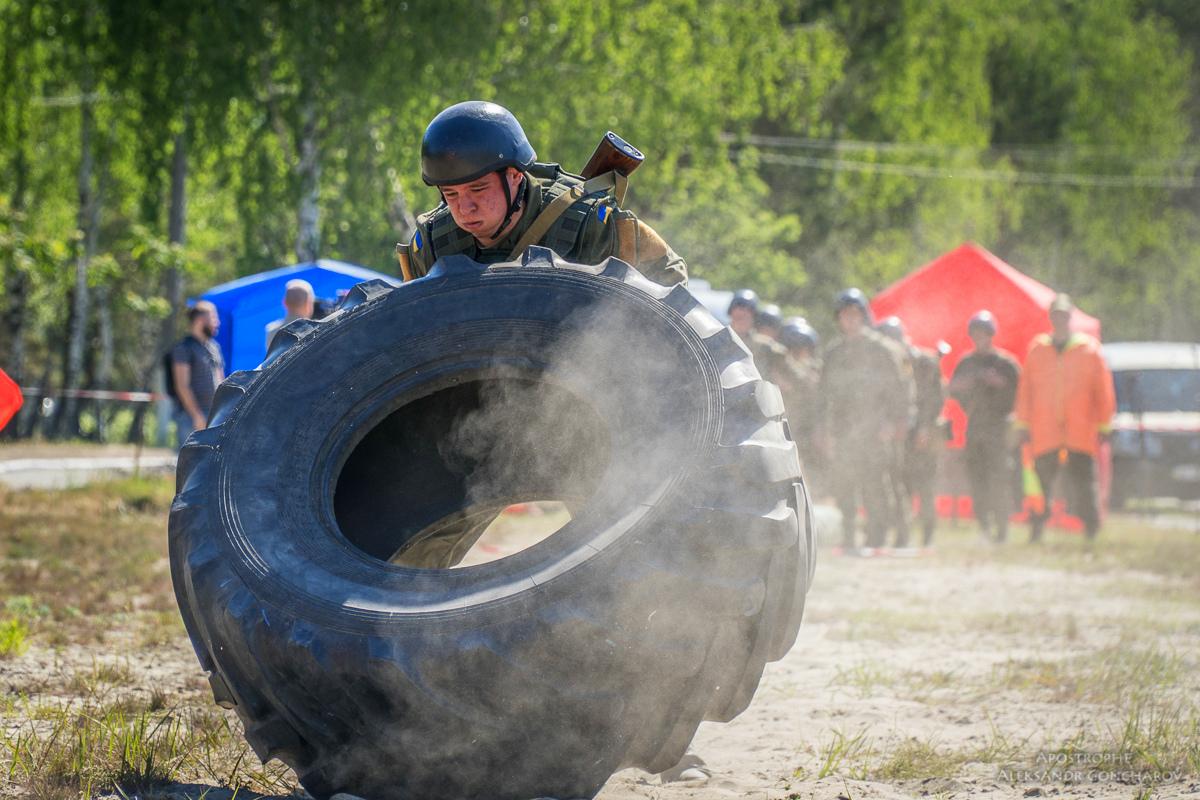 В Украине прошли соревнования по кроссфиту среди военнослужащих Нацгвардии