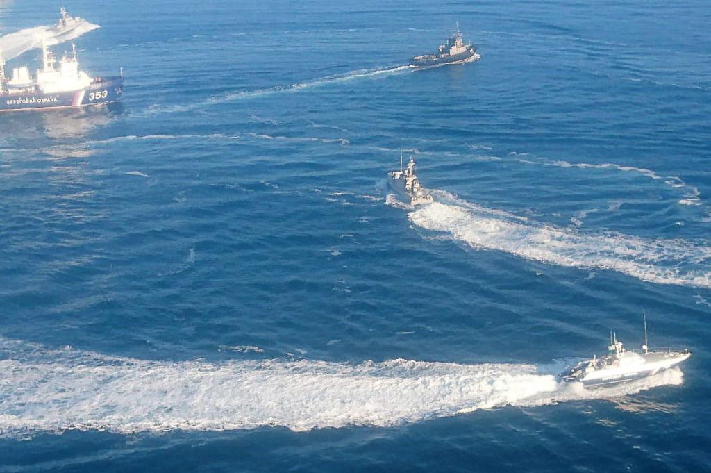 Захват украинских кораблей в Керченском проливе
