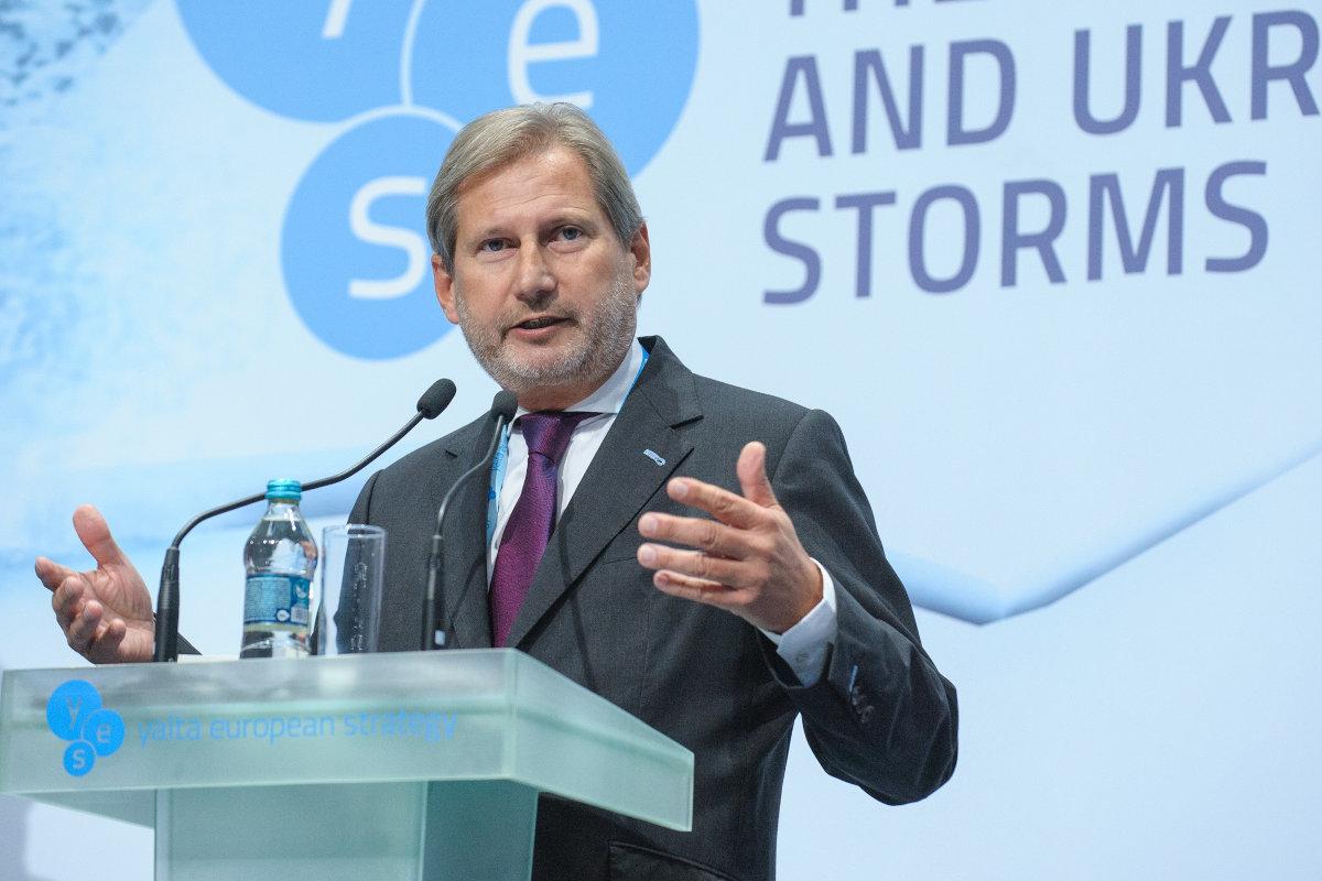 Еврокомиссар Йоханнес Хан уверяет, что в Евросоюзе никто не против этого решения
