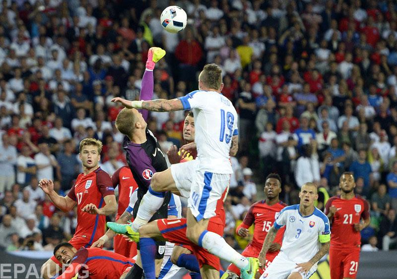 В заключительном туре группового раунда Евро-2016 Словакия и Англия сыграли вничью в квартете В