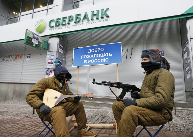 Украина является слабым государством, которое не может реально за себя постоять