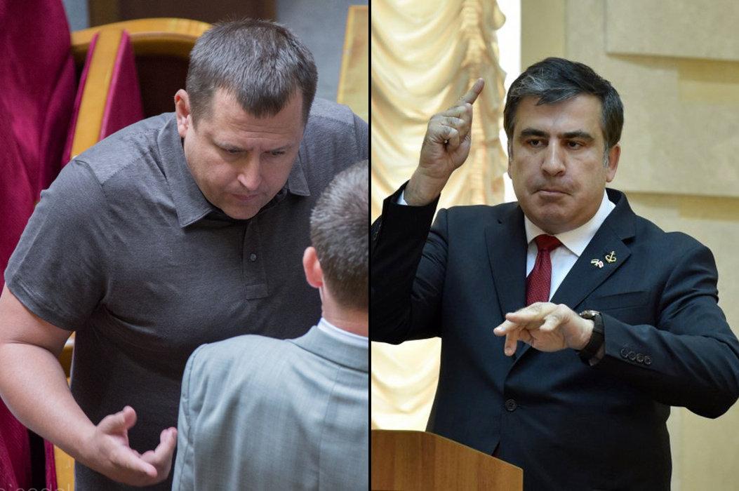 Соцсети о взаимных оскорблениях Саакашвили и Филатова
