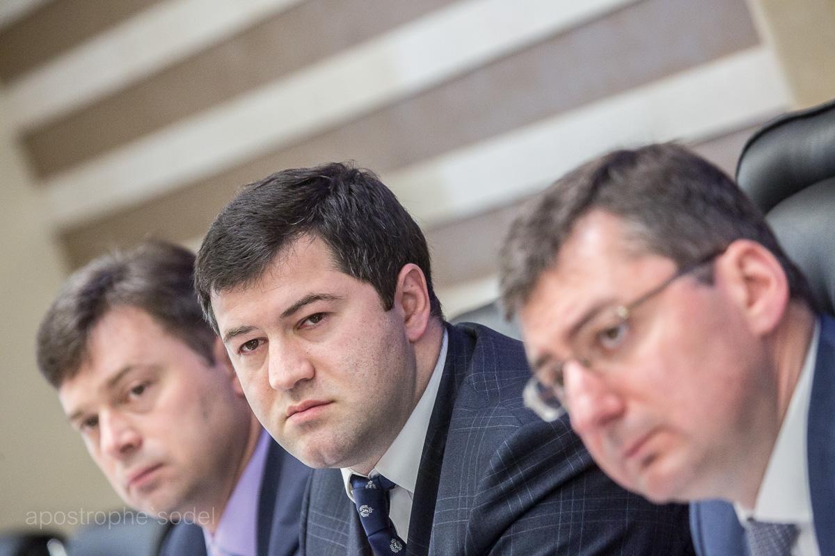 Роман Насиров и его заместители обещают бороться с теневыми схемами на таможне и конвертационными центрами