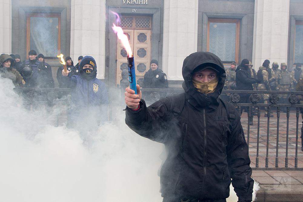 """Представители """"Свободы"""", """"Правого сектора"""" и """"Азова"""" передали власти свой ультиматум"""